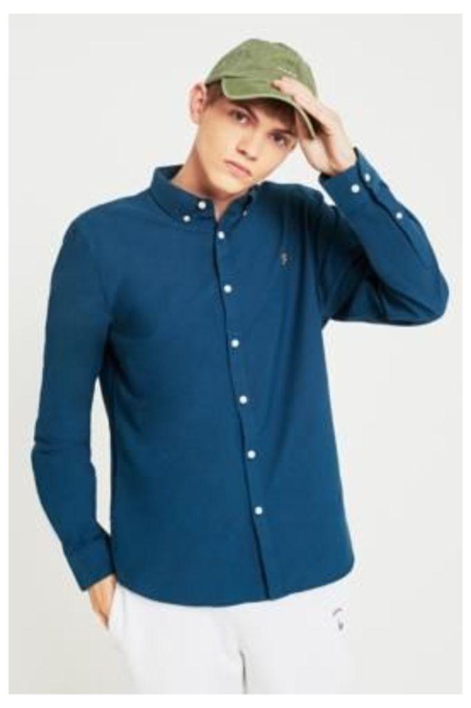 Farah Brewer Atlantic Blue Long-Sleeve Shirt, BLUE