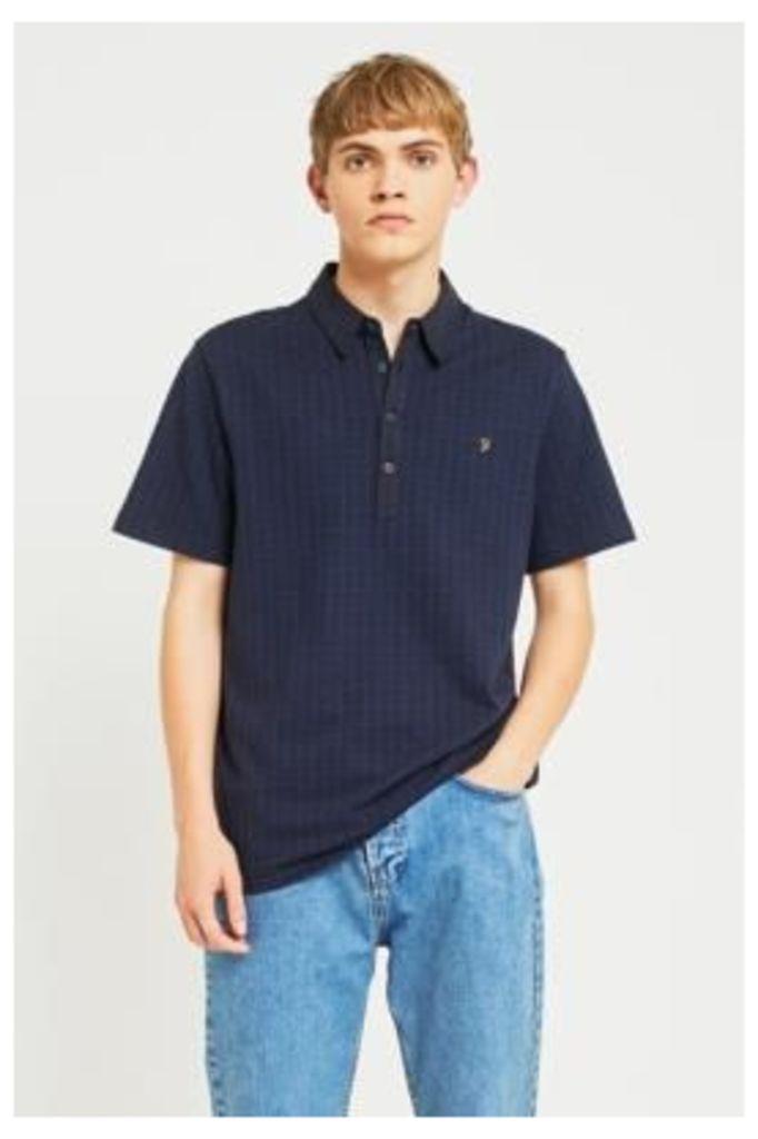 Farah Chelsea True Navy Polo Shirt, NAVY
