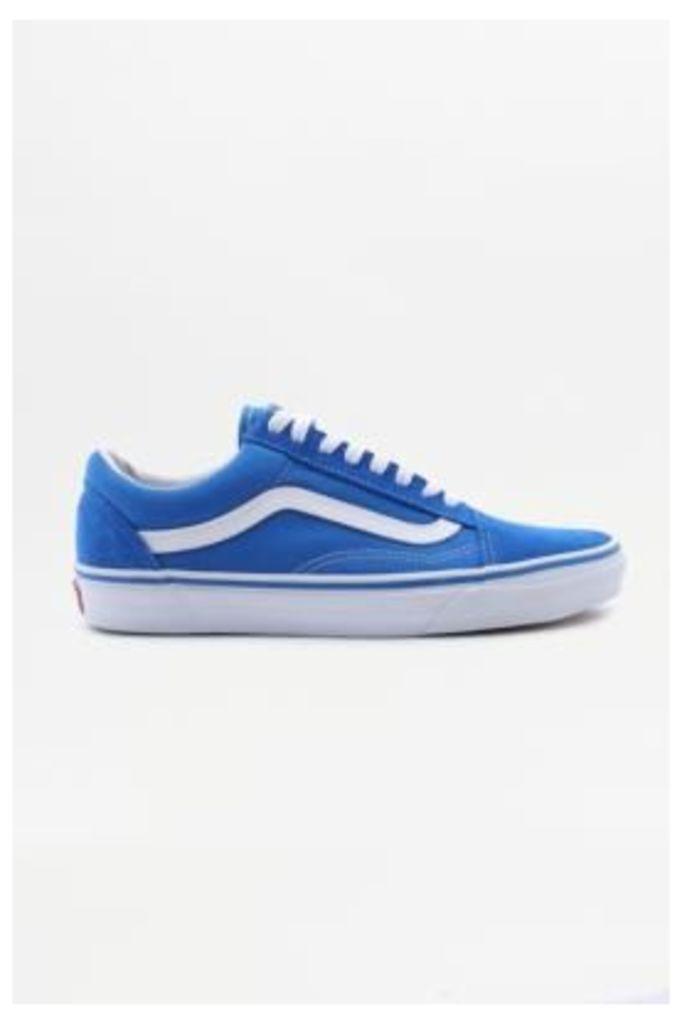 Vans Old Skool Imperial Blue Trainers, BLUE