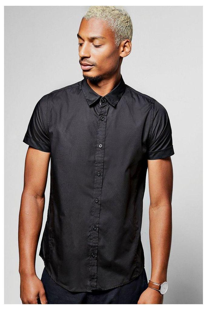 Sleeve Shirt - black