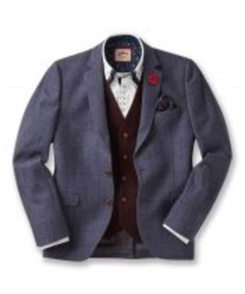 Sensational Subtle Check Blazer