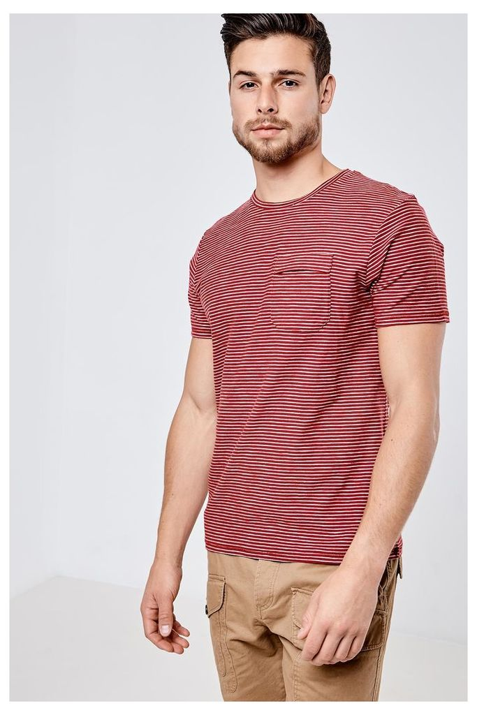 Threadbare Carmel Valley T-Shirt - Red