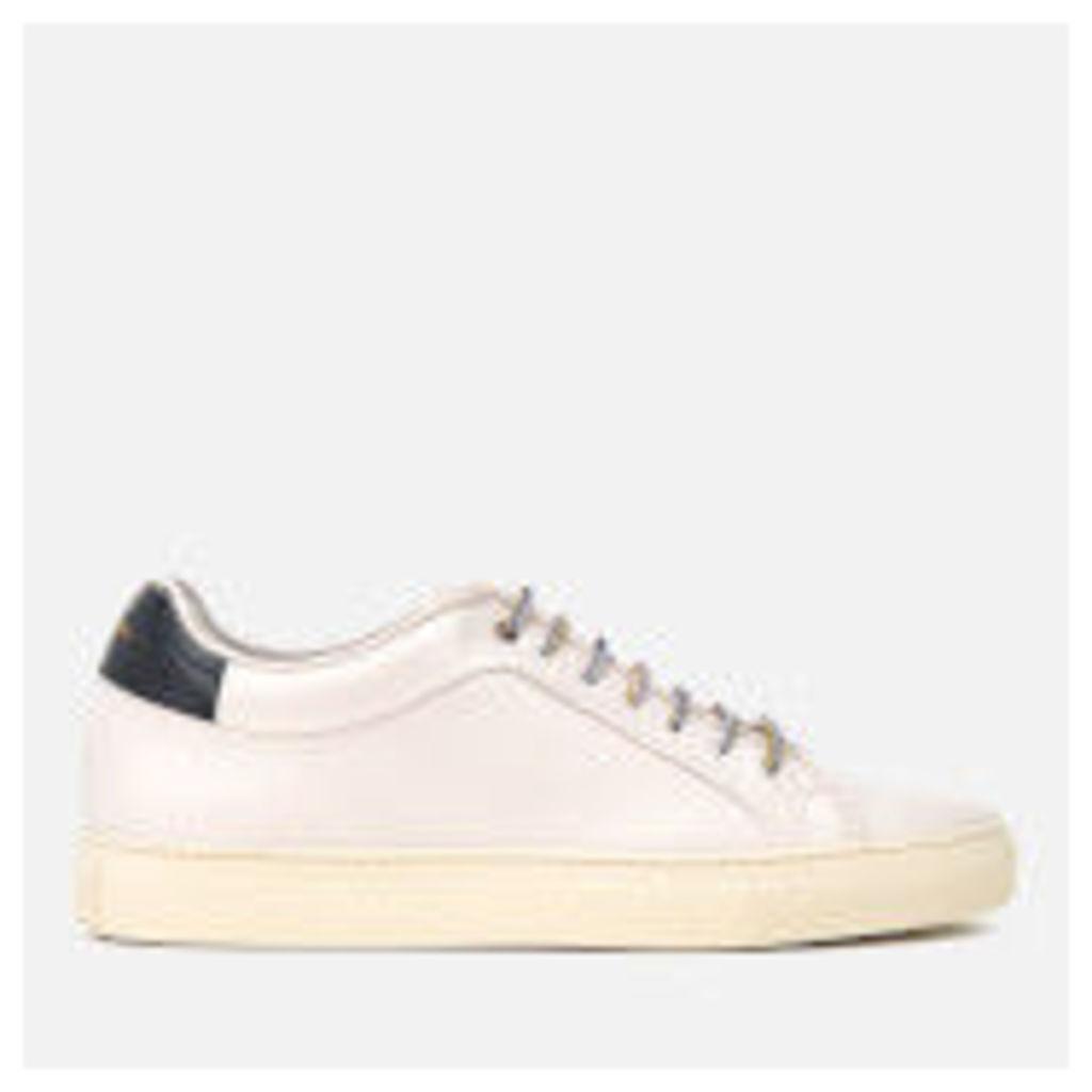 Paul Smith Men's Basso Leather Cupsole Trainers - Quiet White - UK 9 - White