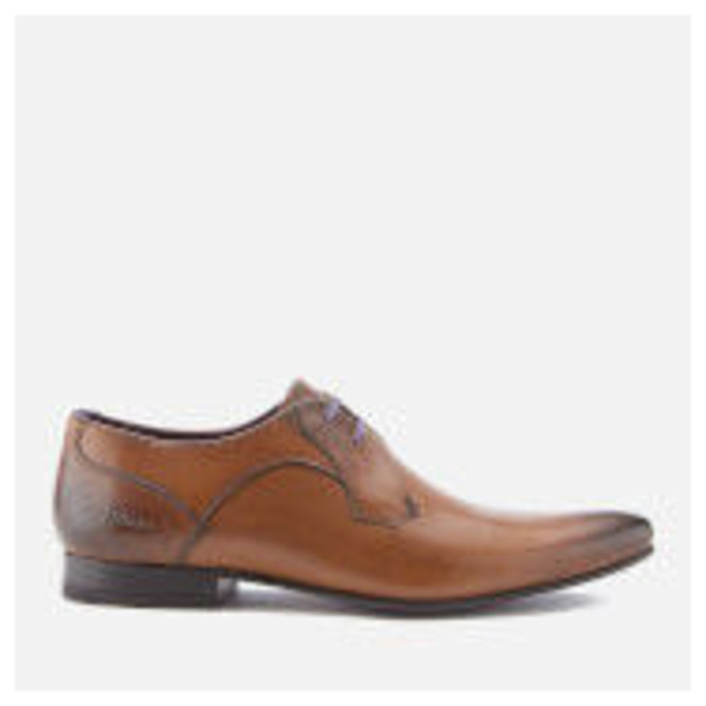 Ted Baker Men's Martt 2 Leather Leather Derby Shoes - Tan - UK 8 - Tan