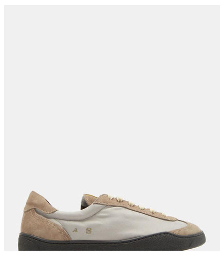Lars Panelled Suede Sneakers
