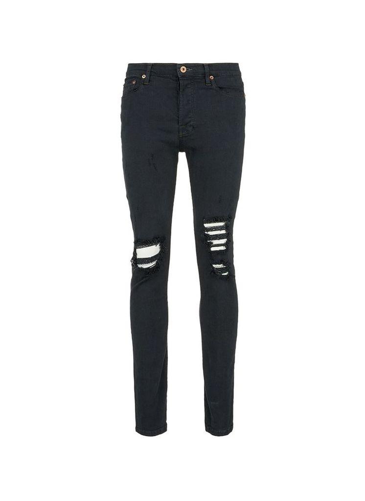 'Viktor' ripped slim fit jeans