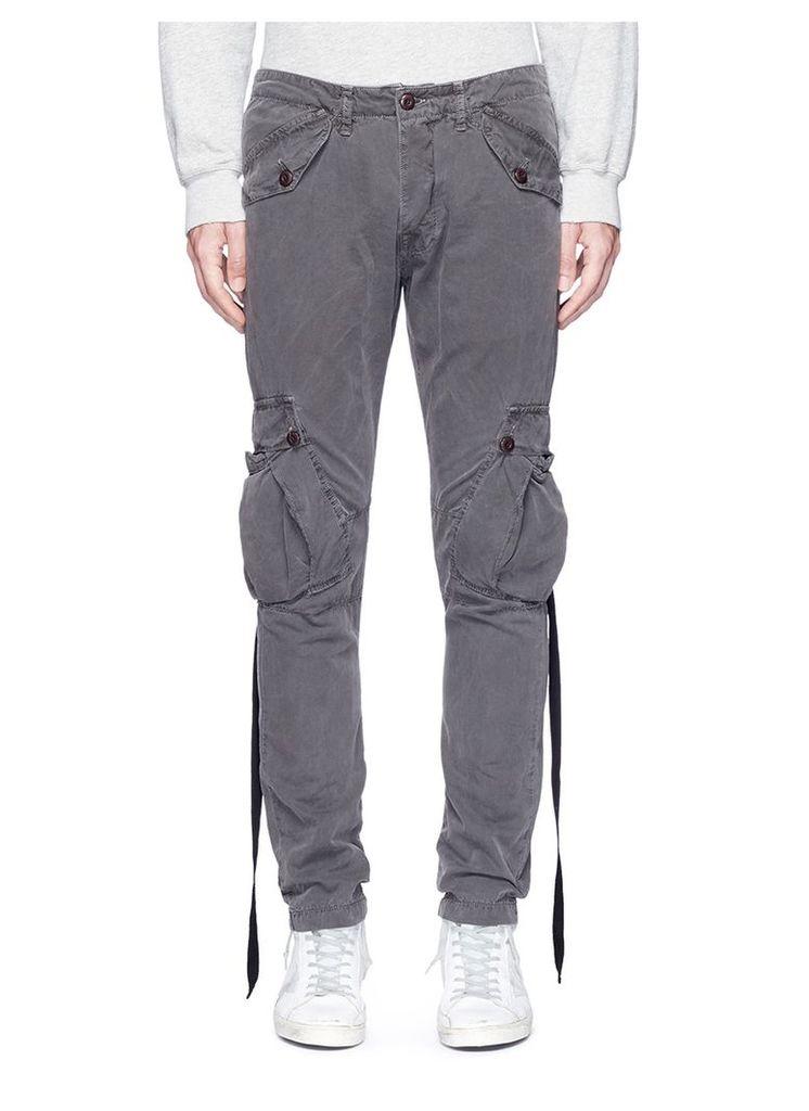 'Katsu' slim fit cargo pants