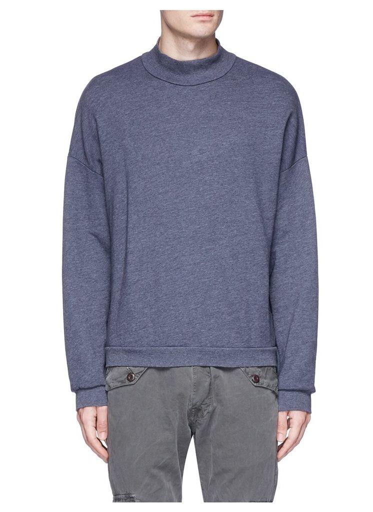 'Mateo' mock neck sweatshirt