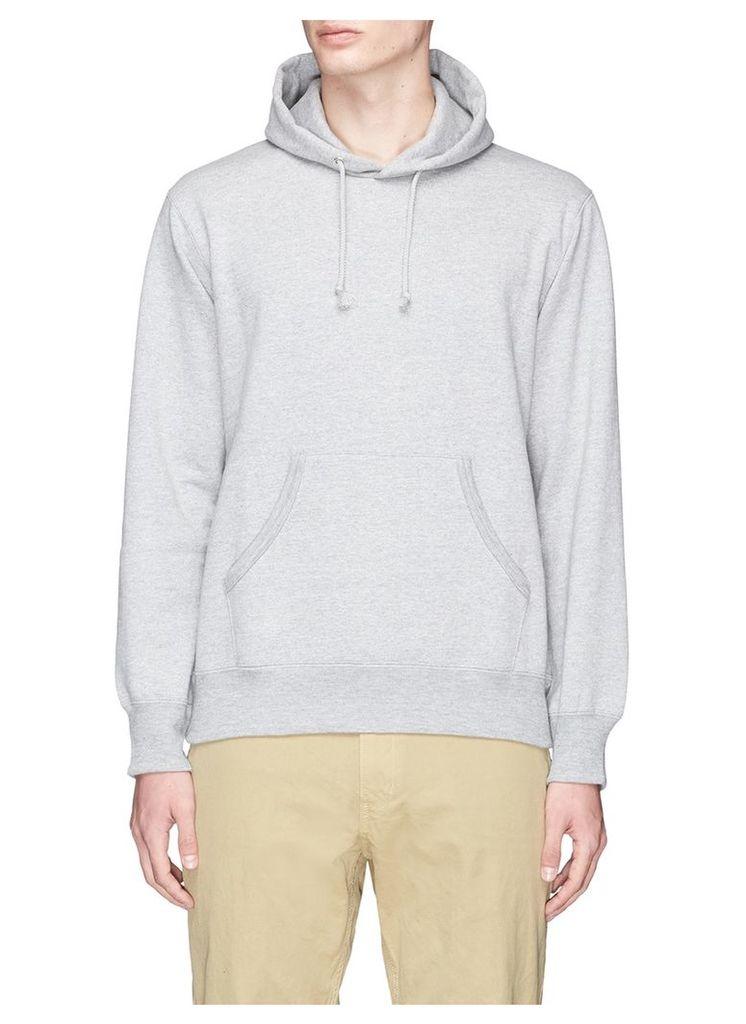 'HOMME' print hoodie