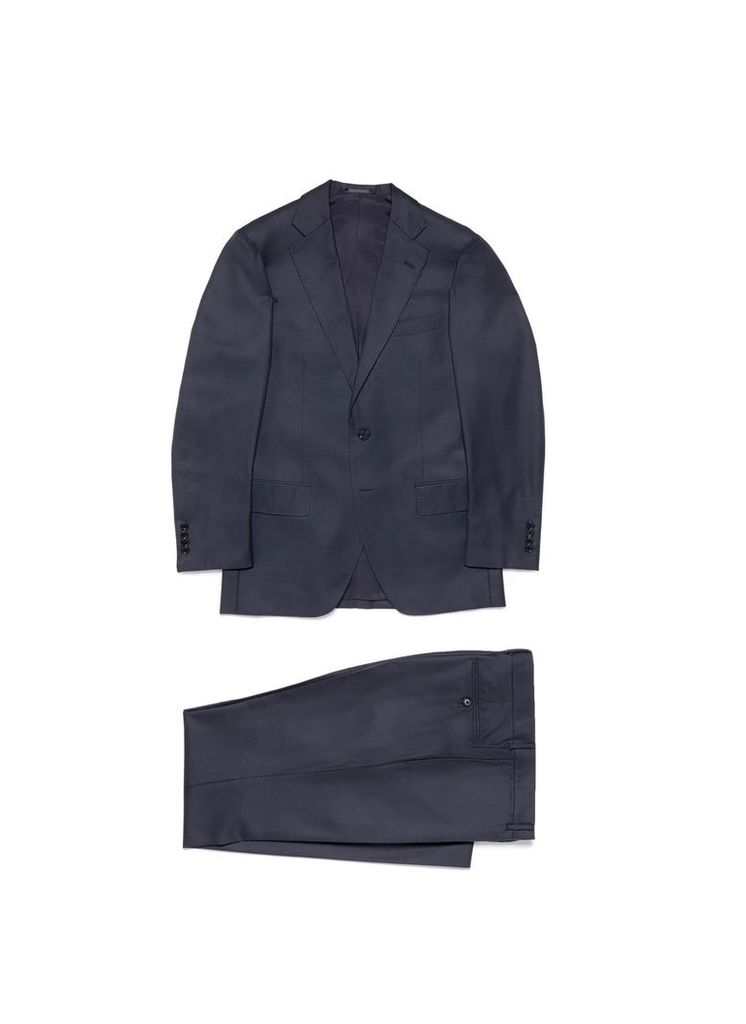 Eremengildo Zegna Shang Micronsphere® twill suit