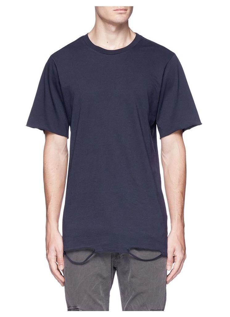 'Bryce' ripped hem T-shirt