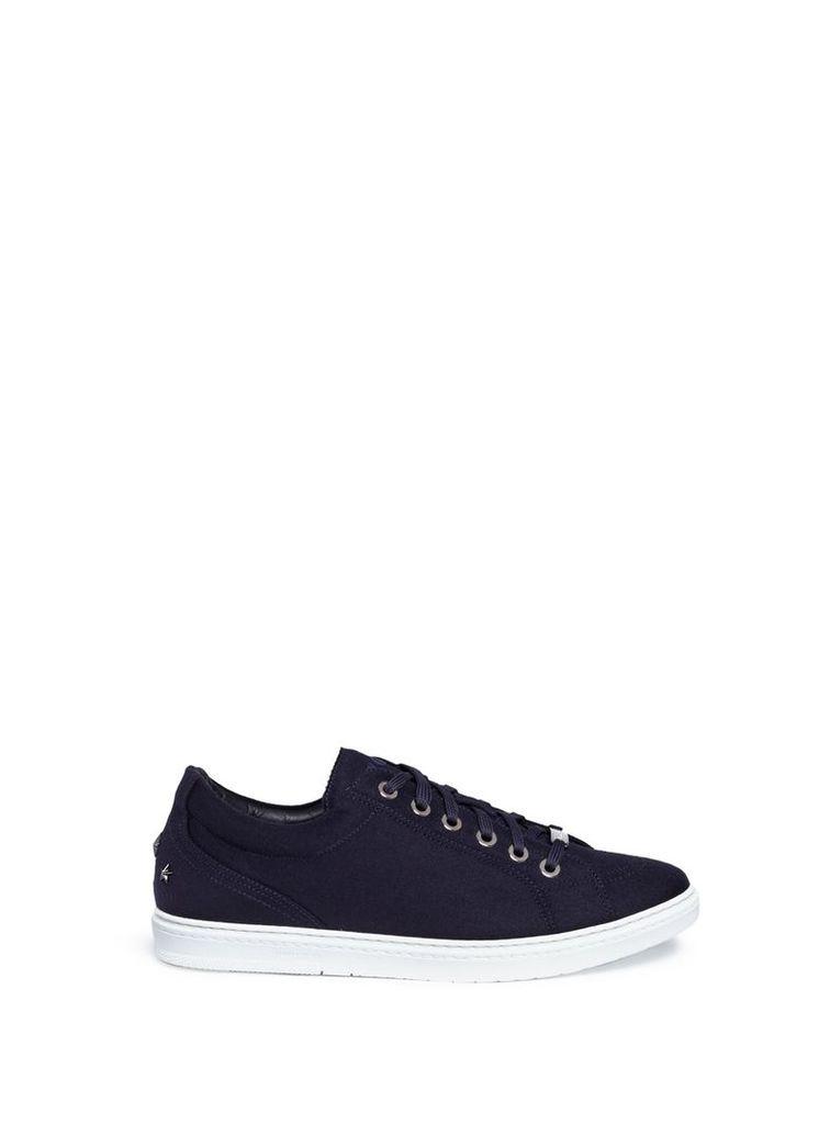 'Cash' wool flannel sneakers