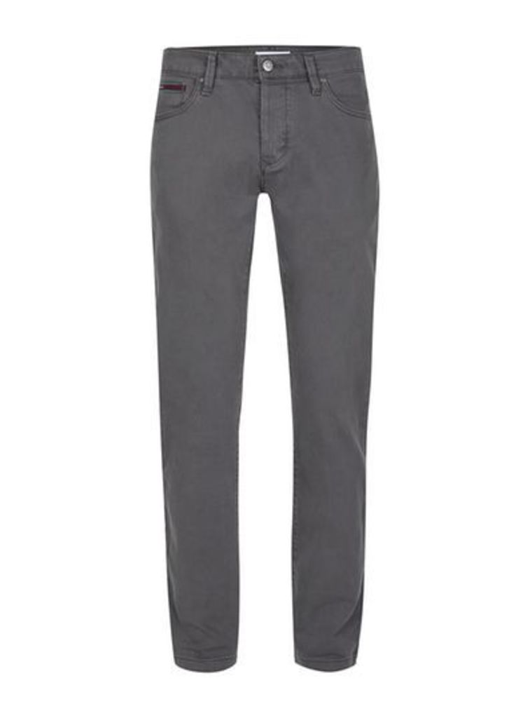 Mens Black HILFIGER DENIM Grey Slim Jeans, Black