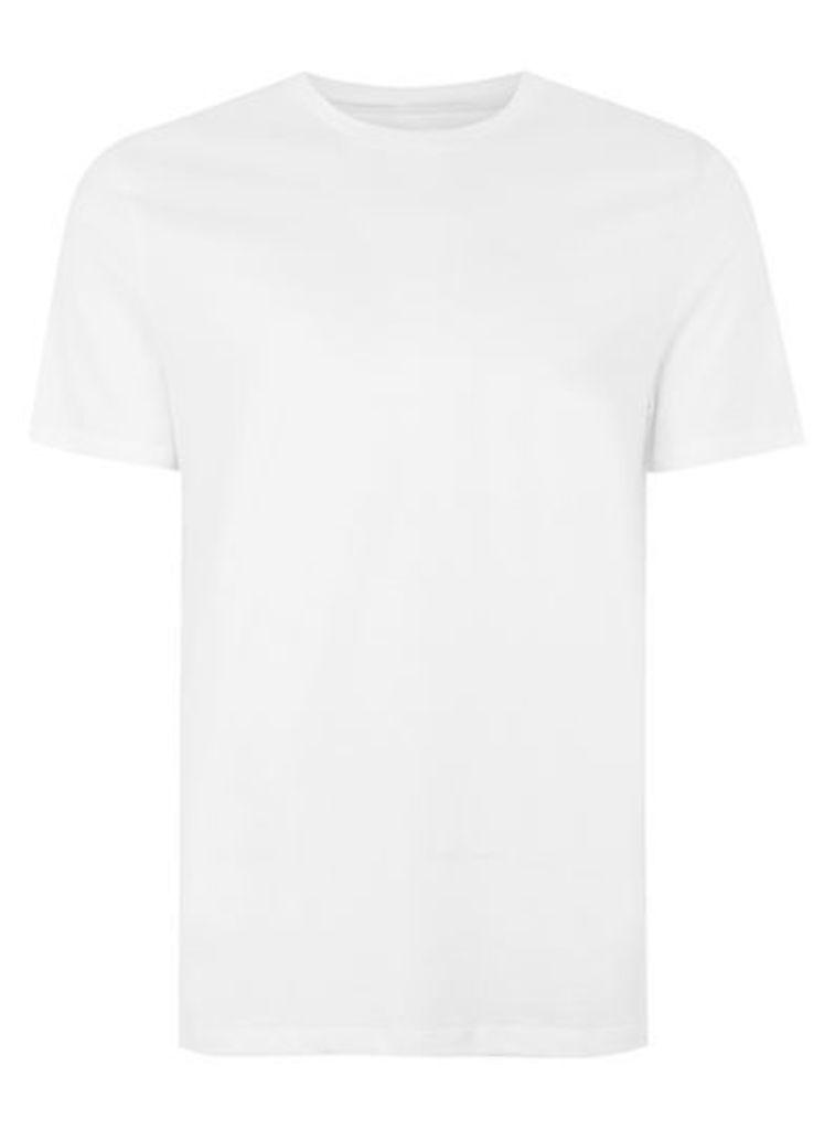 Mens White Slim Fit T-Shirt 3 Pack*, White