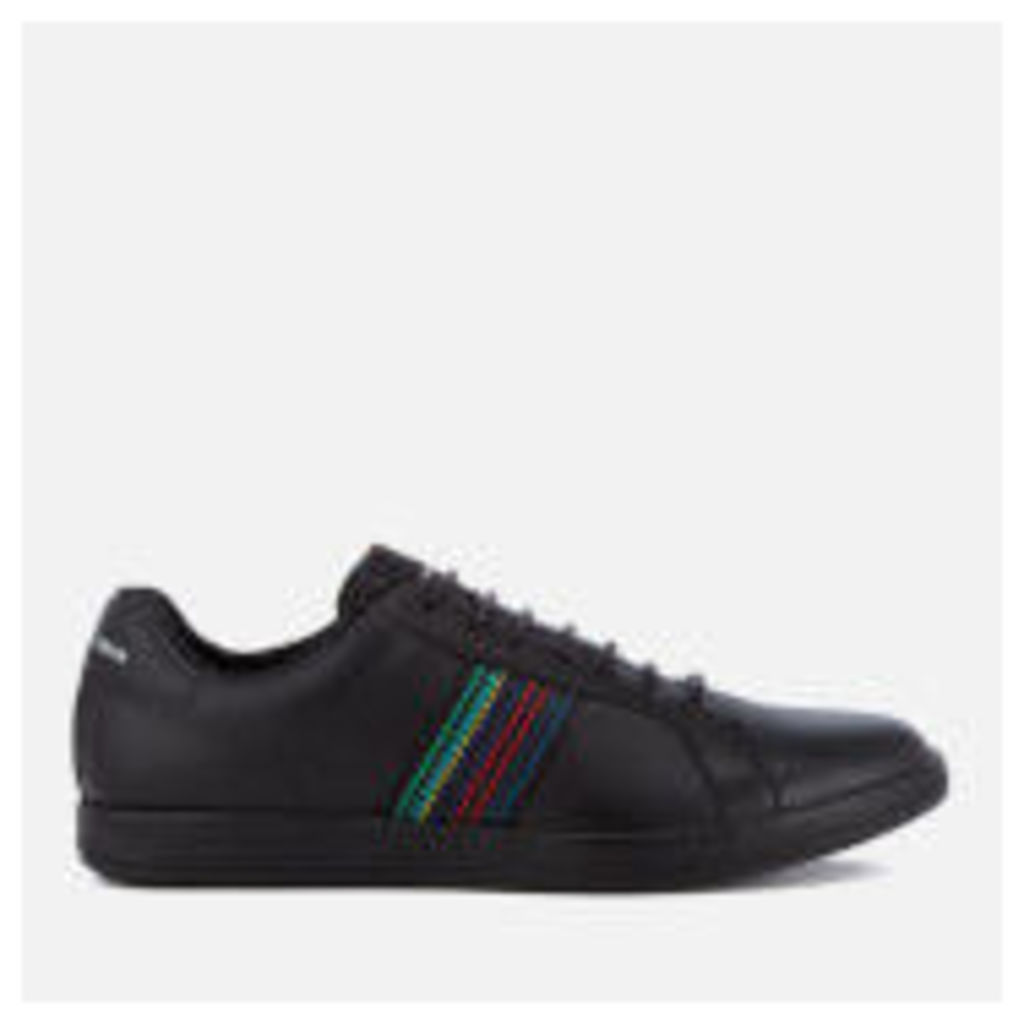 PS by Paul Smith Men's Lapin Leather Trainers - Black - UK 7 - Black
