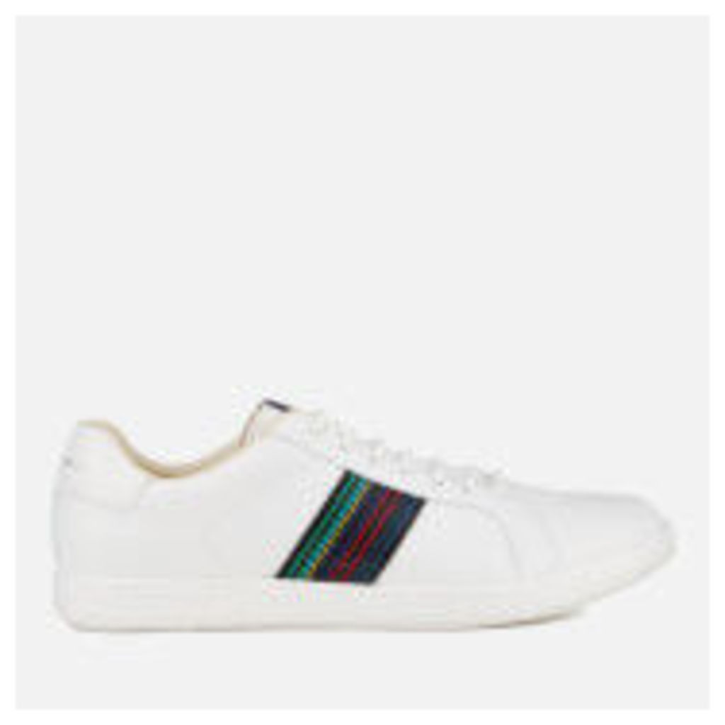 PS by Paul Smith Men's Lapin Leather Trainers - White - UK 9 - White
