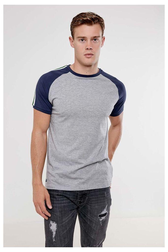 Threadbare Longley T-Shirt - Grey
