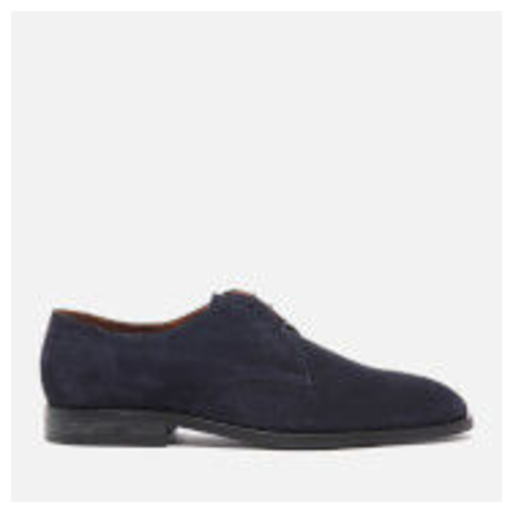 PS by Paul Smith Men's Leo Suede Derby Shoes - Oceano - UK 11 - Blue