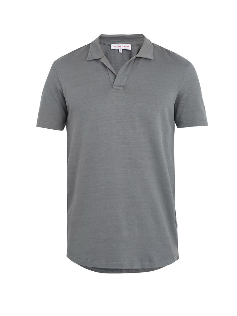 Massey cotton polo shirt