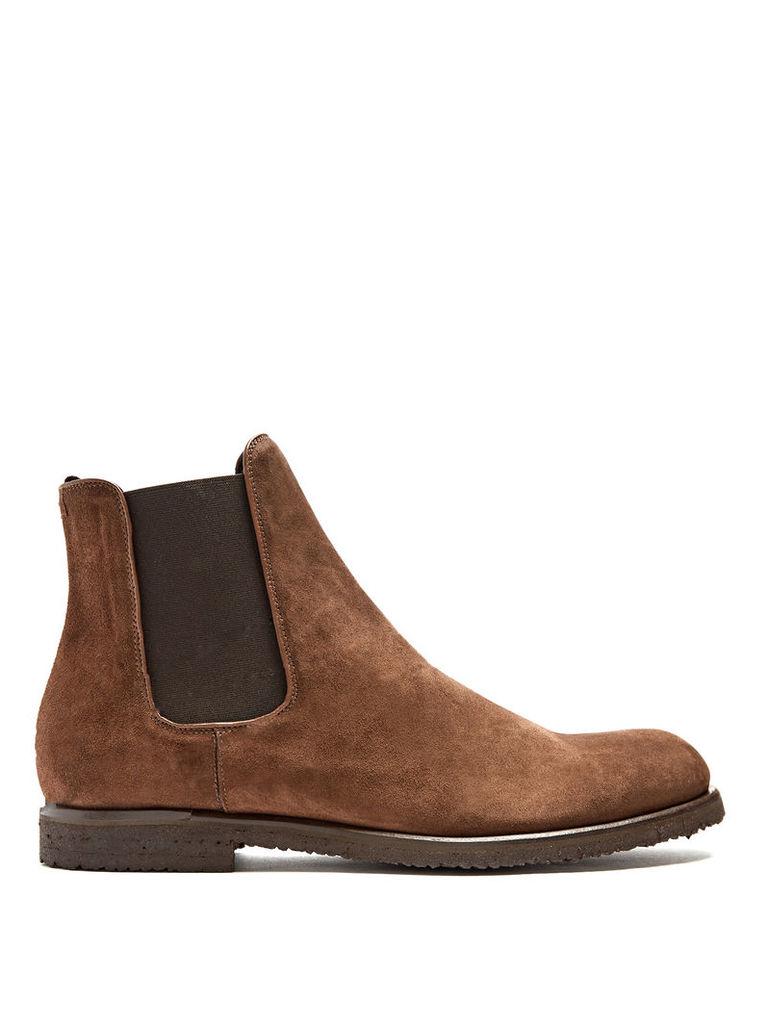 William suede chelsea boots