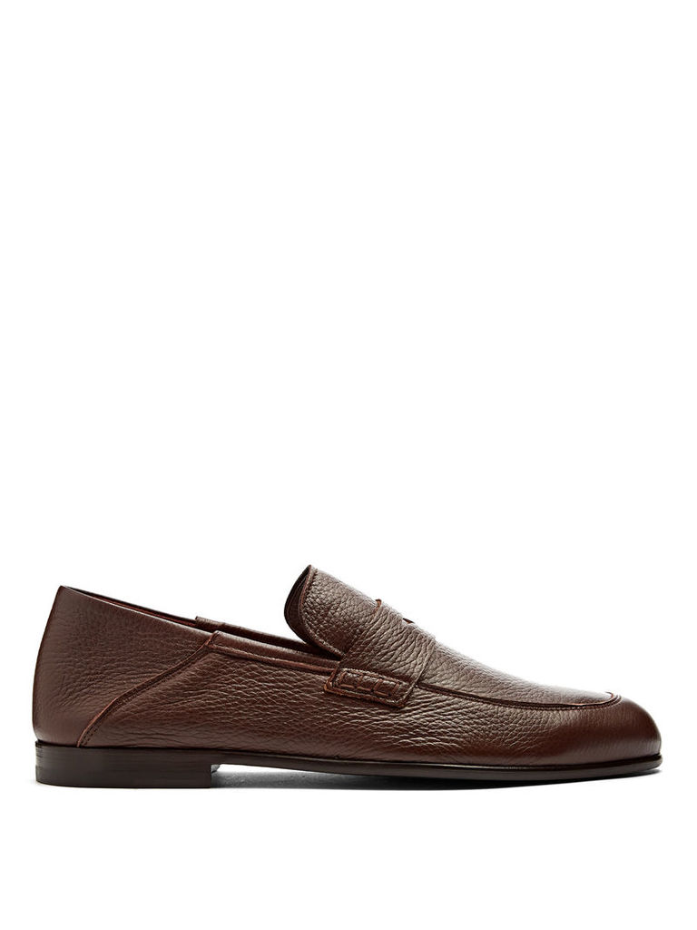 Edward leather penny loafers