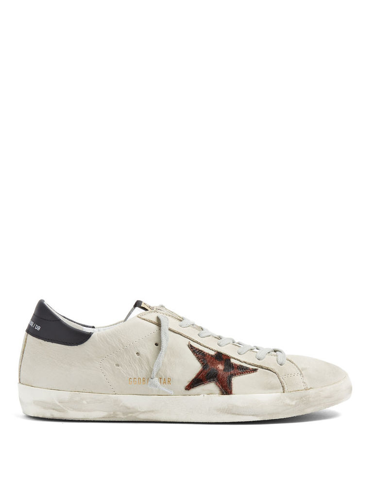 Super Star low-top leather trainers