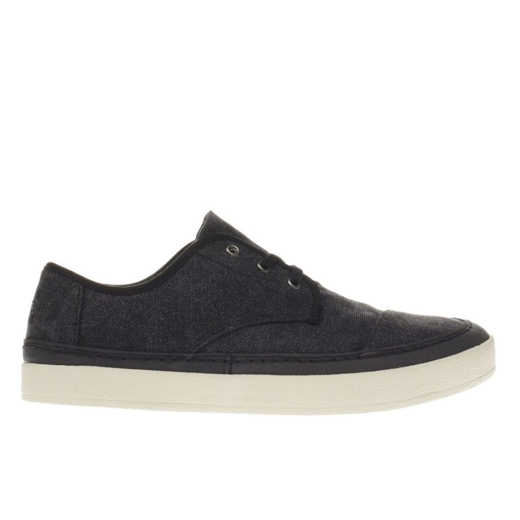toms black paseo sneaker shoes