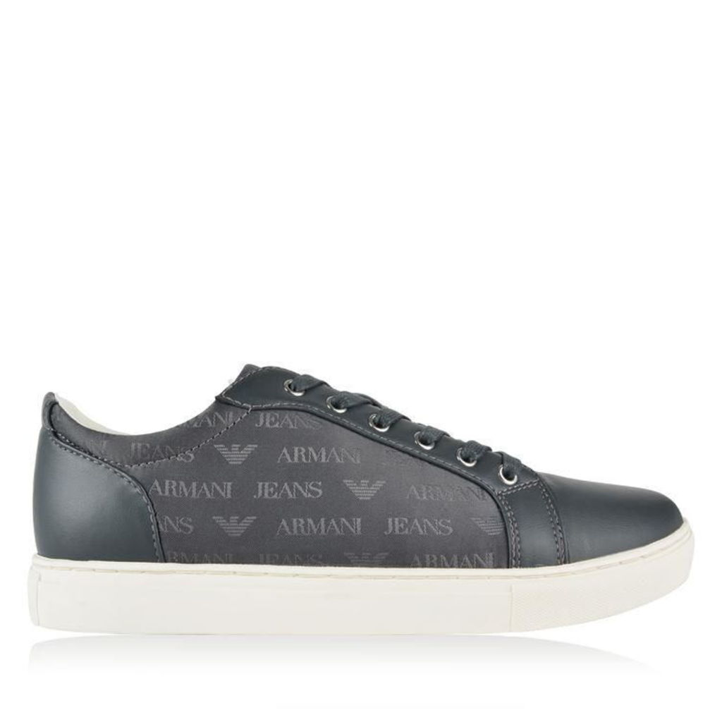 ARMANI JEANS Eagle Logo Low Top Trainers