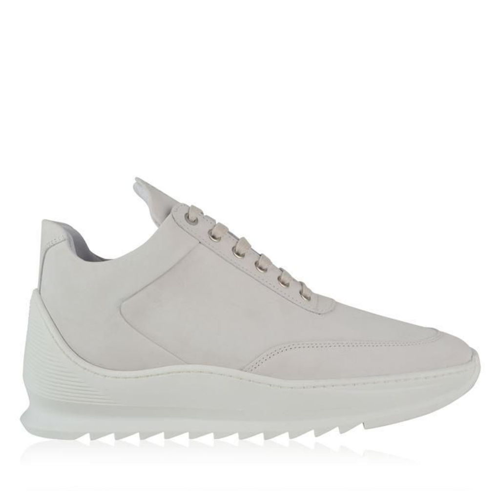 FILLING PIECES Heel Cap Low Top Trainers
