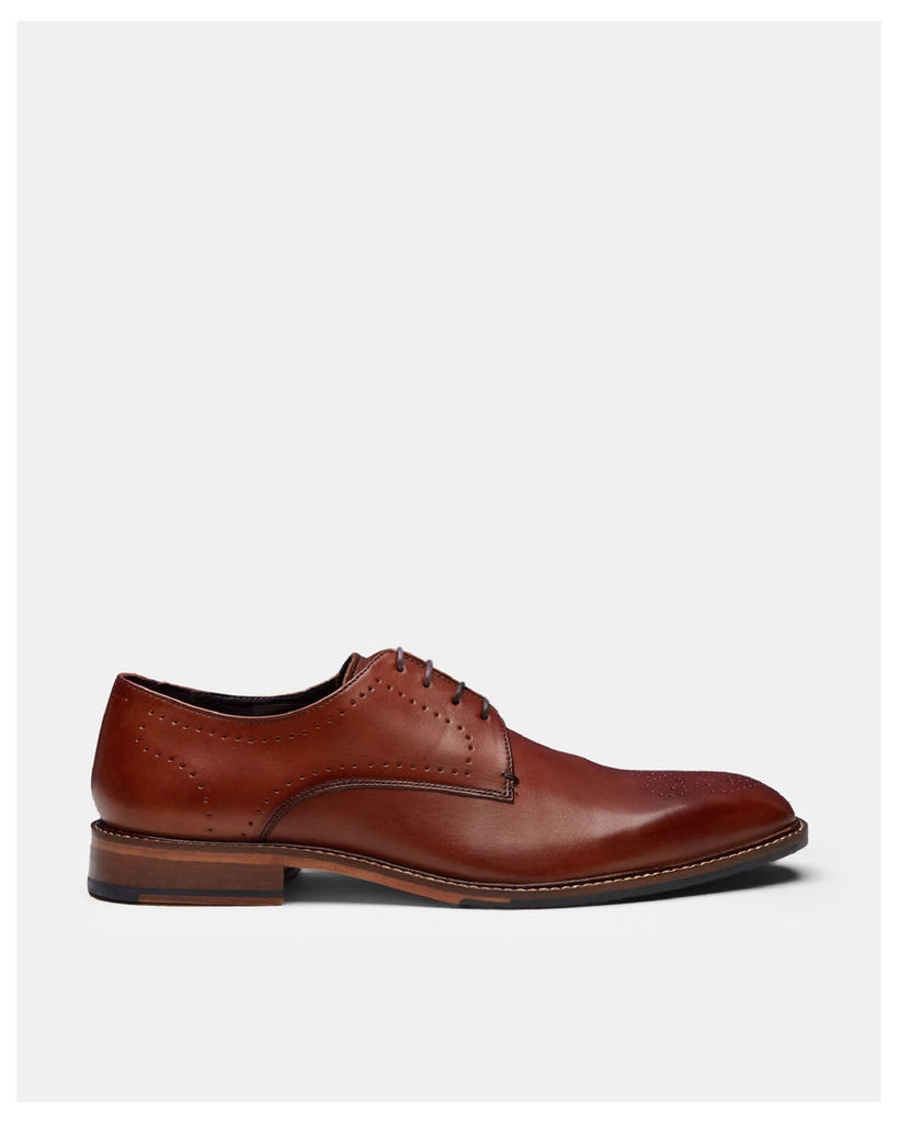 Ted Baker Leather derby shoes Tan