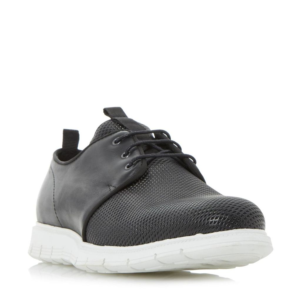 Bolt Contrast Panel Sporty Wedge Shoe