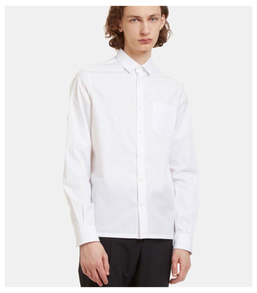 D-Ring Strapped Poplin Shirt