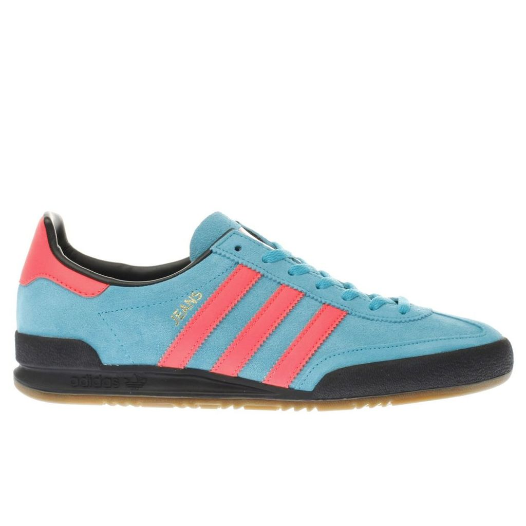 adidas blue jeans trainers