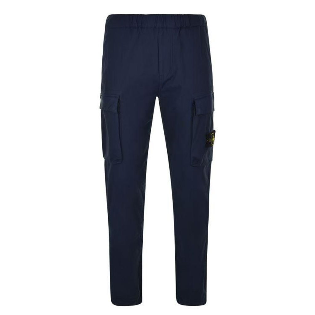 STONE ISLAND Tela Badge Logo Trousers