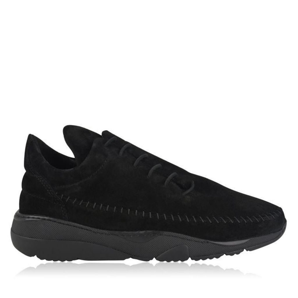 FILLING PIECES Suede Apache Runner Trainers