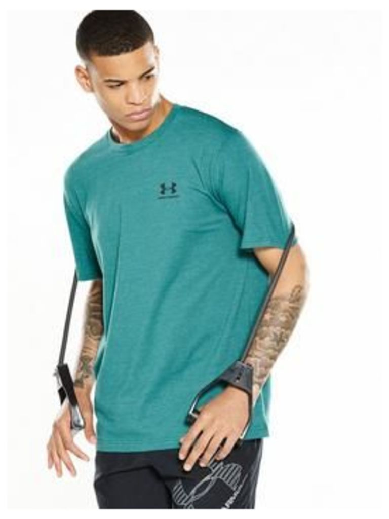 Under Armour Under Armour Charged Cotton Left Chest Lockup T-Shirt