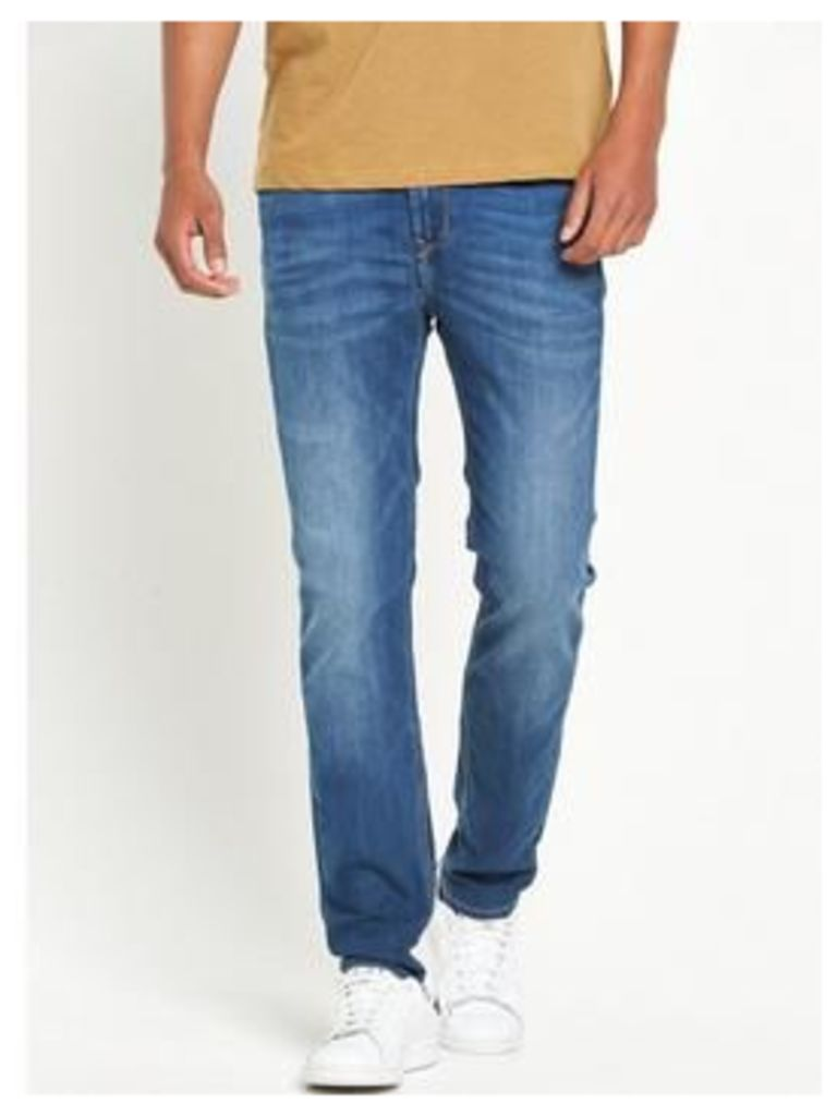 Lee Arvin Regular Tapered Fit Jeans - Blue Legacy