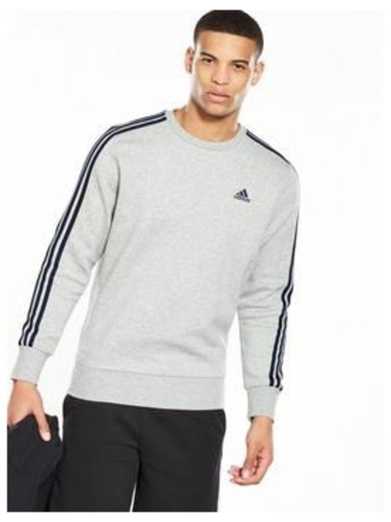 Adidas Essentials 3S Crew Neck Sweat