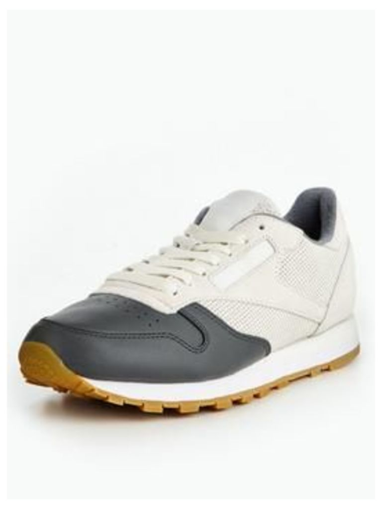 Reebok Classic Leather Ls - White/Grey