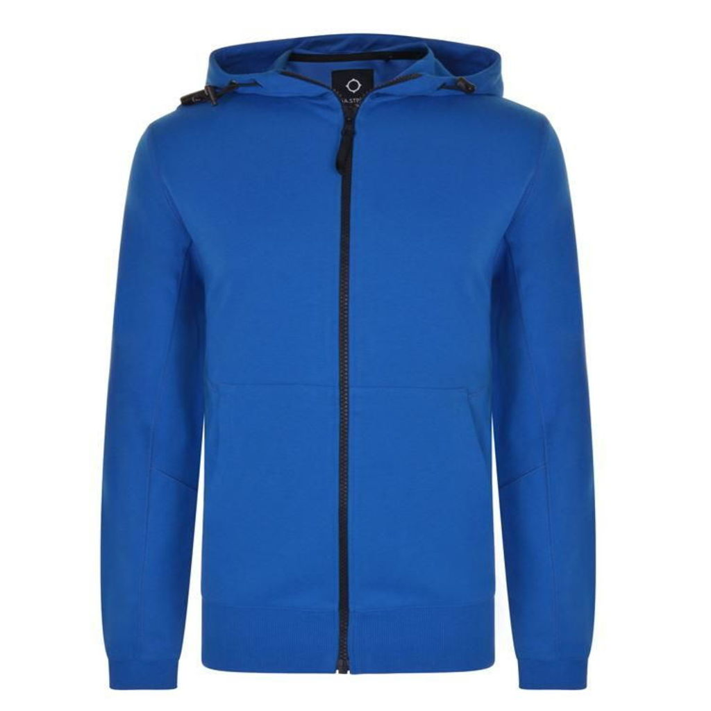 MA STRUM Patton Hooded Zip Sweatshirt