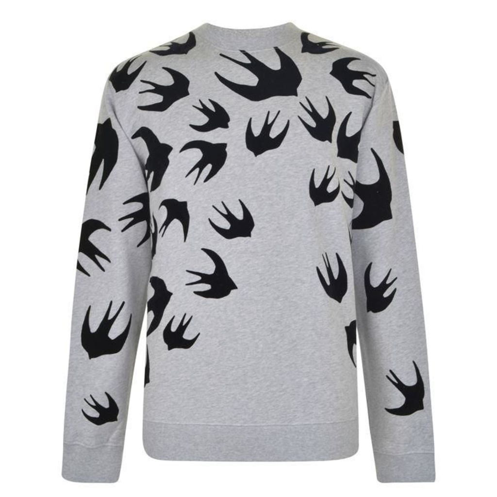 MCQ ALEXANDER MCQUEEN Flock And Swallows Jumper