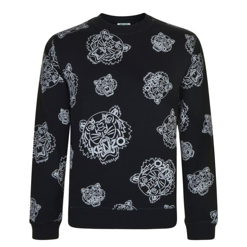 KENZO All Over Tiger Sweatshirt