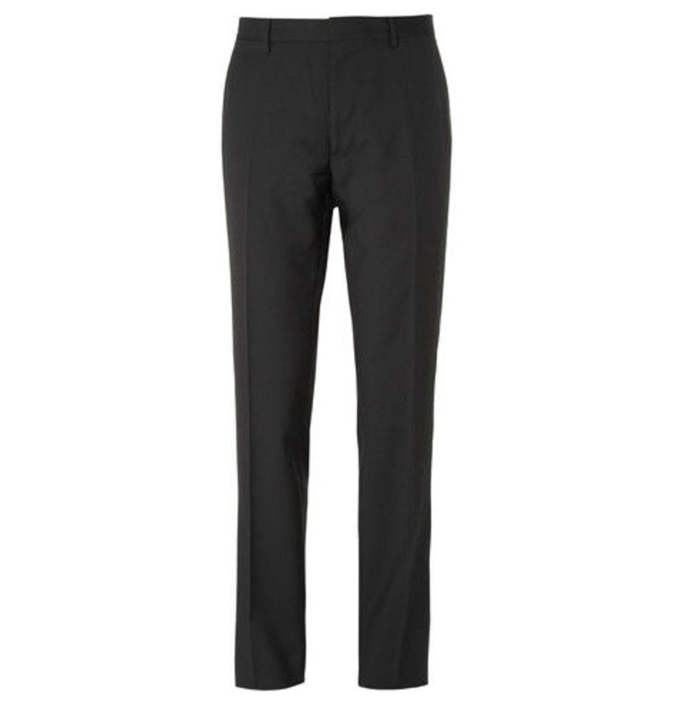 Burberry - Black Virgin Wool Trousers - Black