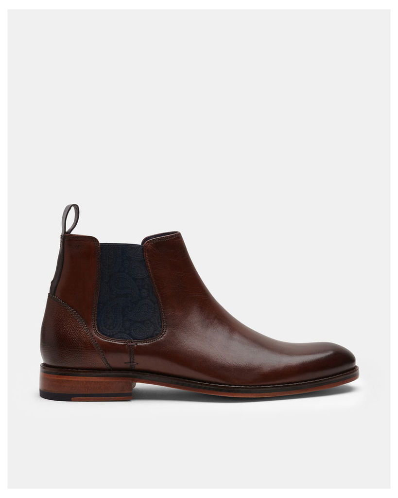 Ted Baker Leather Chelsea boots Brown