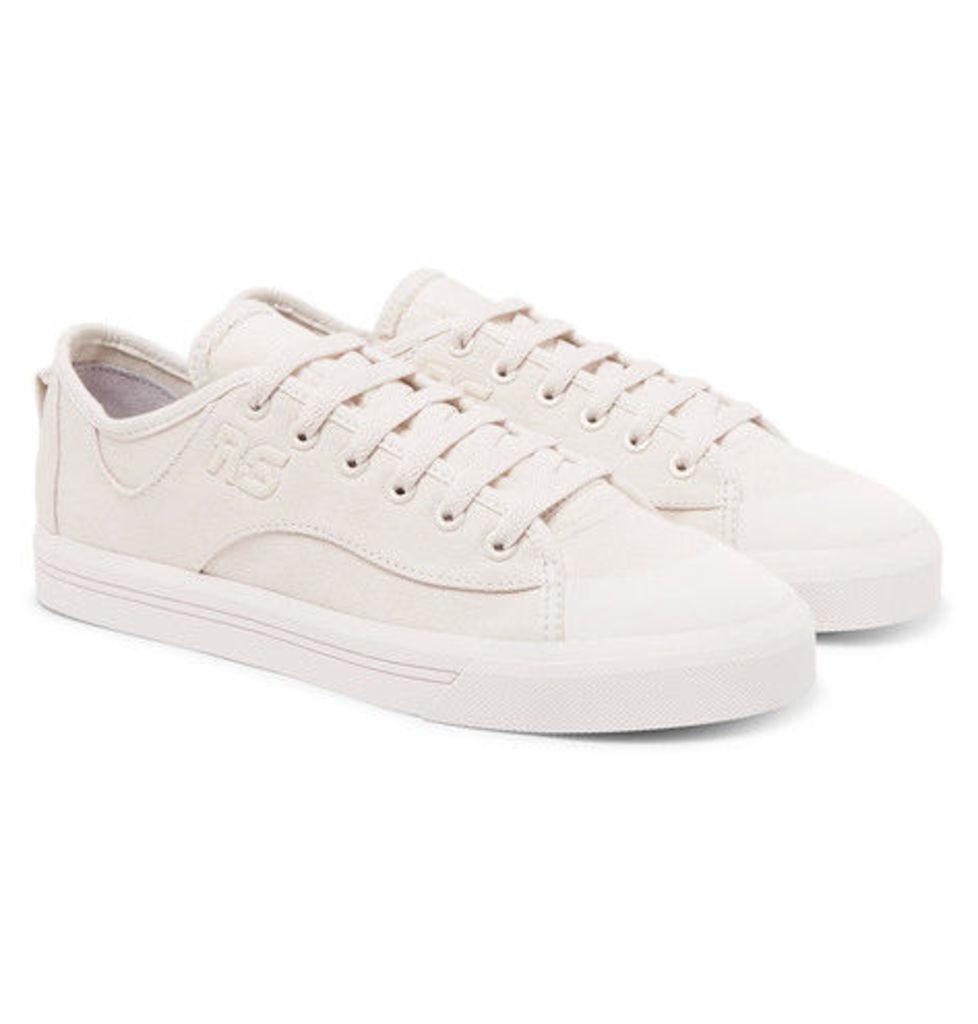 Raf Simons - + Adidas Spirit V Canvas Sneakers - White