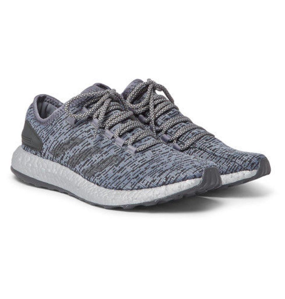 adidas Originals - Pure Boost Ltd Primeknit Sneakers - Gray