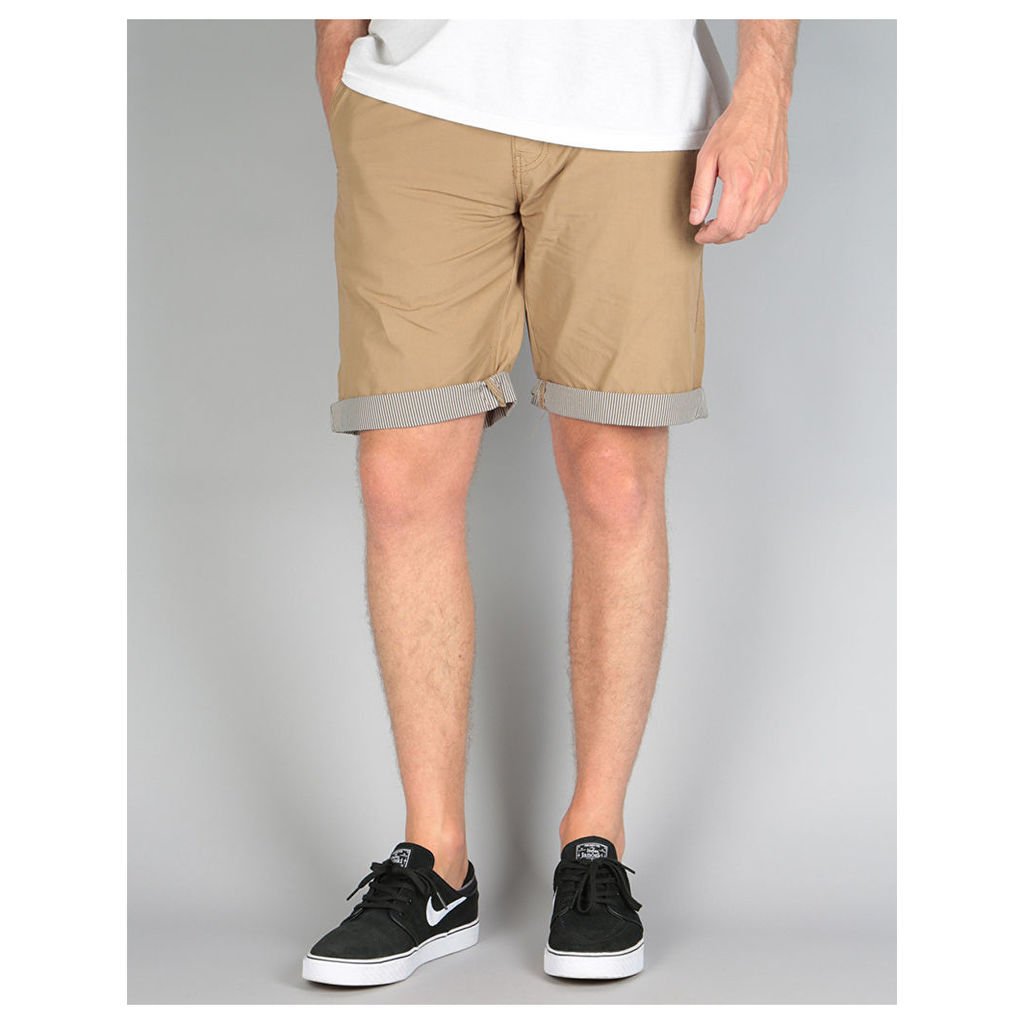 Route One Tailor Shorts - Khaki (28)