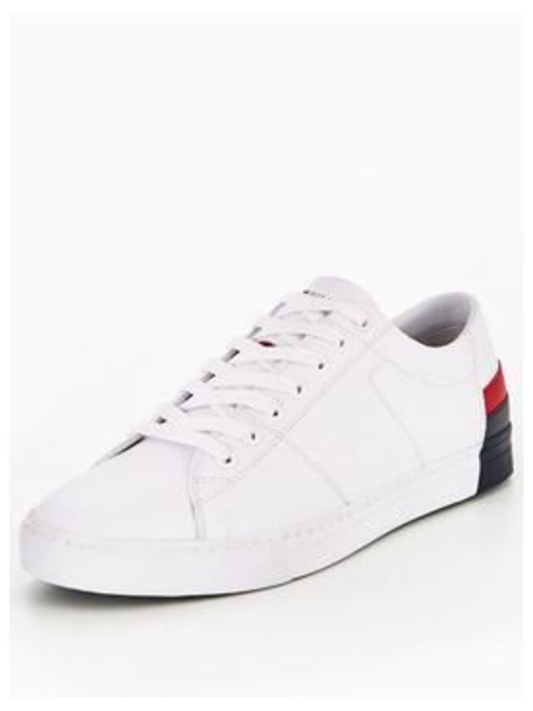 Tommy Hilfiger Jay 9 Trainer, White, Size 10.5, Men