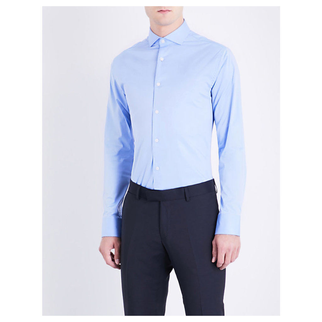 Farrell slim-fit stretch-cotton shirt