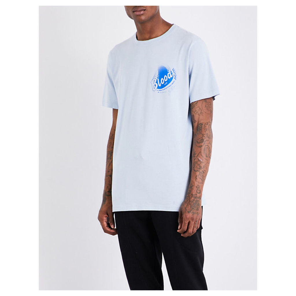Spin cotton-jersey T-shirt